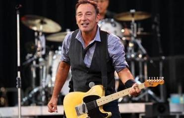 Bruce Springsteen performed in front of thousand of fans at Fenway Park during the first of two concerts over two days.