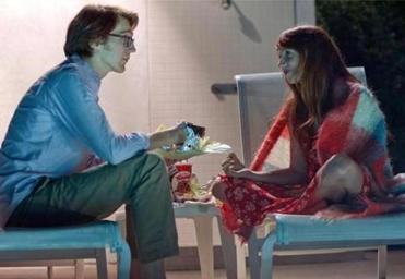 Paul Dano as �Calvin� and Zoe Kazan as �Ruby.
