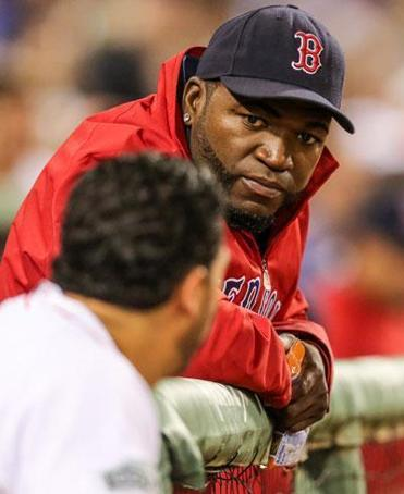 David Ortiz had a PRP injection on his right knee in 2007. He said it helped in his recovery from surgery.