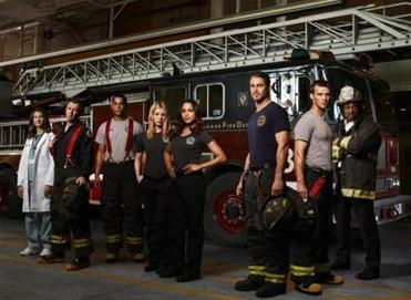 "The cast from ""Chicago Fire."""