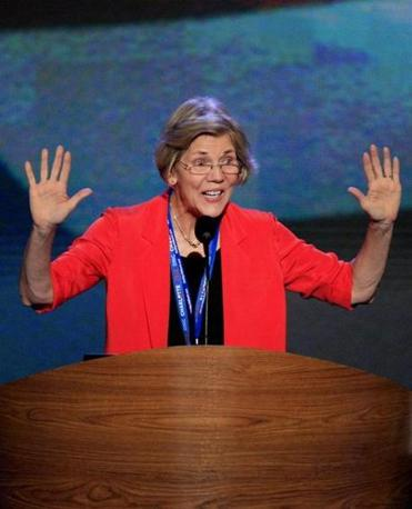 Even as Elizabeth Warren is slightly behind Brown in public opinion polls in Massachusetts, she has had no trouble capturing the hearts, minds, and political donations of the party's progressive wing.