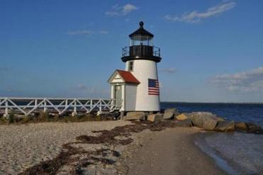 If you bring or rent a bike, picturesque Brant Point Lighthouse is an easy ride from Main Street.