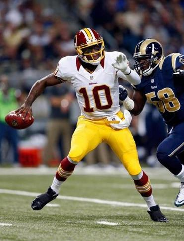 Jo-Lonn Dunbar and the Rams caught up to Robert Griffin.