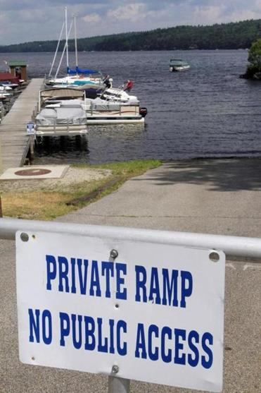 Lake Sunapee in Newbury, N.H., has public and private boat ramps, but officials say a 24-hour launch is needed.