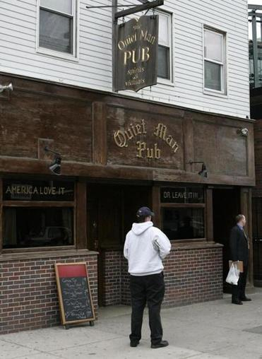 The former home of the Quiet Man Pub in South Boston may soon host a Starbucks.