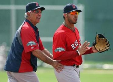 An incident between Mike Aviles and Bobby Valentine during a spring training fielding drill seemed to linger as an issue all season.