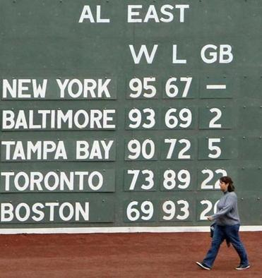 Every loss and head-shaking sideshow that last season's last-place, 69-win calamity served up was worth it, because it led the Sox to this.