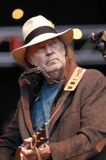 Neil Young writes of family and friends.