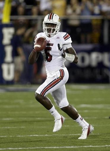 Louisville quarterback Teddy Bridgewater has led his team to a fast start this season.