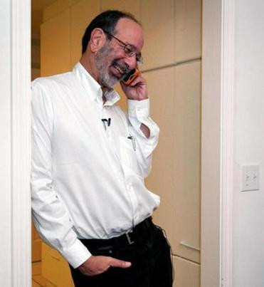 Alvin Roth spoke to reporters by phone in Menlo Park, Calif.