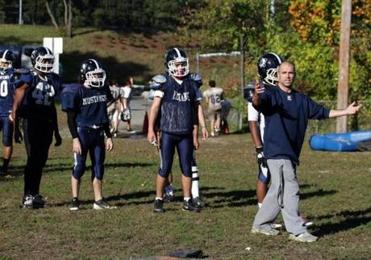 With Jason Nascimento as interim head football coach, the Medford Mustangs still have been losing their games but by smaller margins than previously.