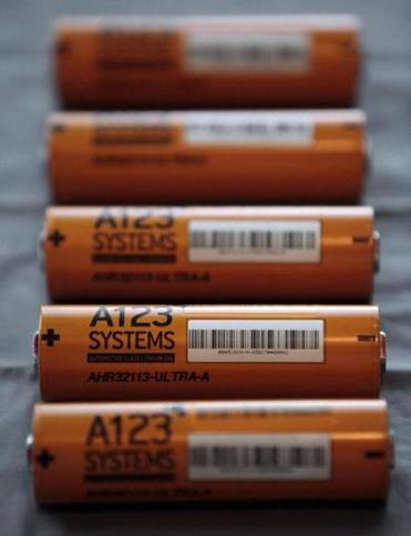 A123 makes advanced battery systems.