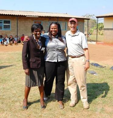 Dr. Blum had moved in July from Cambridge to Zambia.