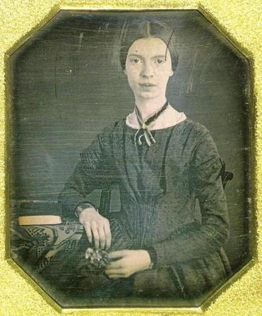 The only authenticated image of Emily Dickinson, circa 1847.