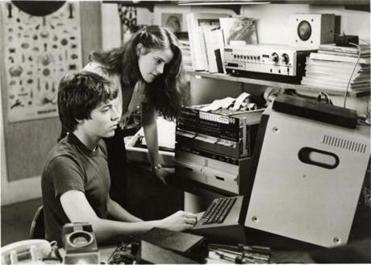 "Matthew Broderick and Ally Sheedy in ""WarGames."""
