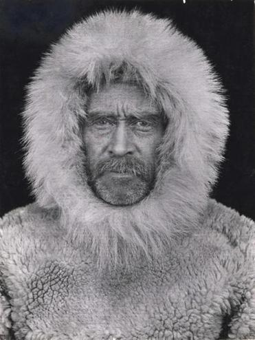 A portrait of Admiral Robert Peary on his 1908 North Pole expedition will be auctioned in December.