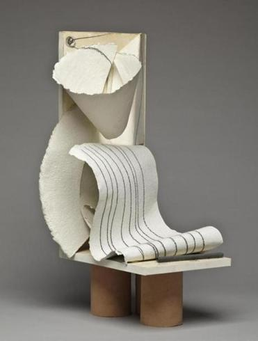 "The show ""Caro: Close Up"" includes examples of Caro's paper work, like ""Paper Sculpture No. 98."""