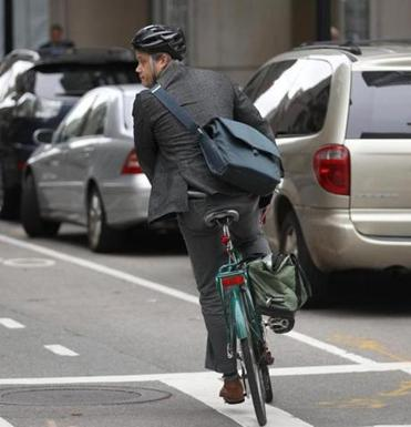 City transportation officials hope to introduce cycle tracks, bike lanes separated from the street by a barrier, on a few sections of busy roads.