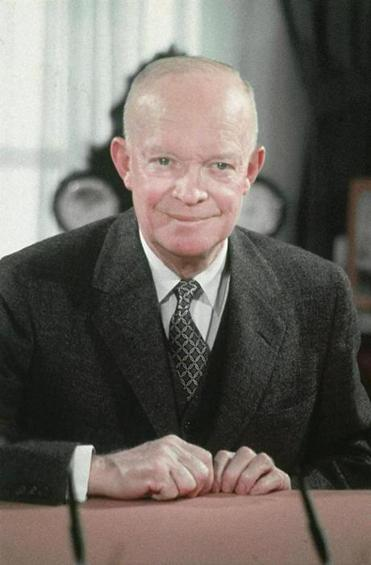 Dwight D. Eisenhower was elected president in 1952, defeating Adlai Stevenson.