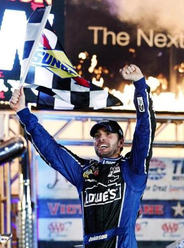 Jimmie Johnson led 168 laps at Texas Motor Speedway, but found himself chasing toward the end. The third restart in the late laps proved to be the charm for No. 48 Chevrolet.