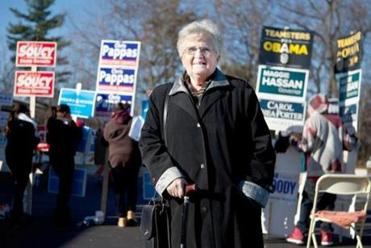 """I believe in him. I know a lot of people don't, but I do,"" said Sister ­Jacqueline Verville, 76."