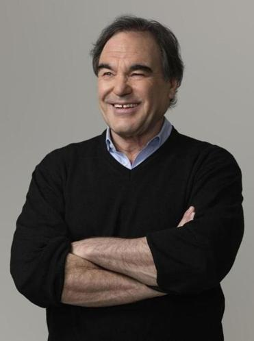 "Oliver Stone believes schools sanitize US history. In his Showtime series, he says, ""We're going back and saying, 'Let the juicy stuff out.' ''"