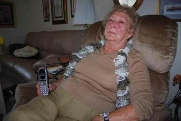 Vivian Mandell, of Swampscott was the victim of a phone scam.