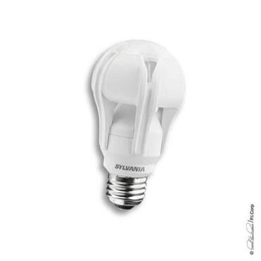 Osram's bulb uses 20 watts of electricity and costs $50.