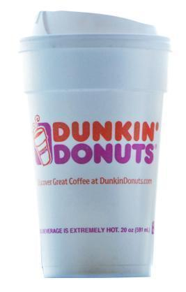 Dunkin' sells over 1.5 billion cups of coffee per year.