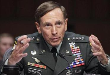 David Petraeus at a Senate Intelligence Committee hearing on his nomination to be director of the CIA in 2011.