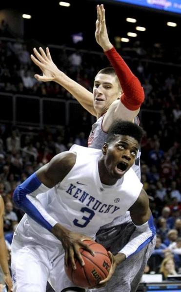Kentucky's Nerlens Noel had an up-and-down game in the opener vs. Maryland.