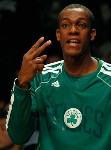 Rajon Rondo was on the court late in the game for the express purpose of extending the streak.