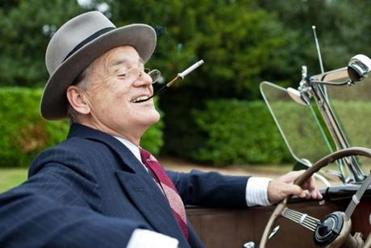 "Bill Murray stars as Franklin D. Roosevelt in ""Hyde Park on Hudson."""