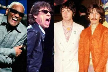 Ray Charles, Mick Jagger, Paul McCartney and George Harrison were interviewed by former DJ Joe Smith.