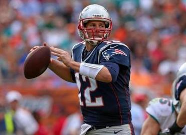 Tom Brady of the New England