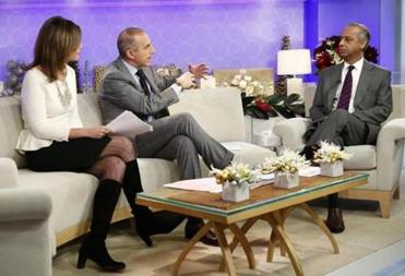"R. Umar Abbasi, a freelance photographer for the New York Post, spoke with Matt Lauer and Savannah Guthrie on NBC's ""today"" show."