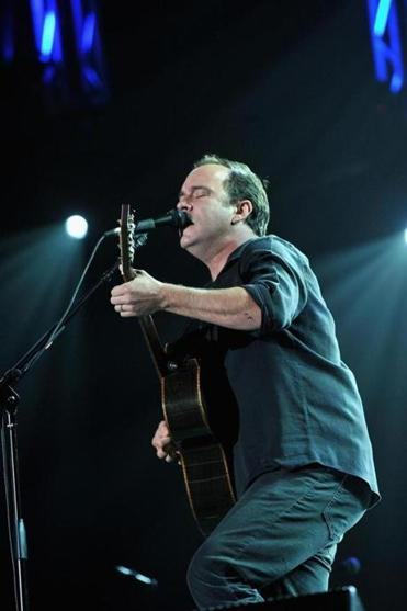 Dave Matthews (shown on stage in Syracuse) keeps his set list fresh.
