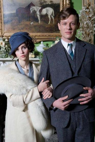 Felicity Jones and James Norton are the couple to be wedded.