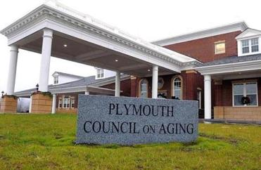 The new Plymouth Council on Aging building.