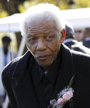 Nelson Mandela, 94, shown in 2010, is still a secular saint to South Africans.