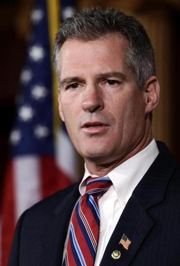 Some took offense at Scott Brown's independence and also his bipartistanship.