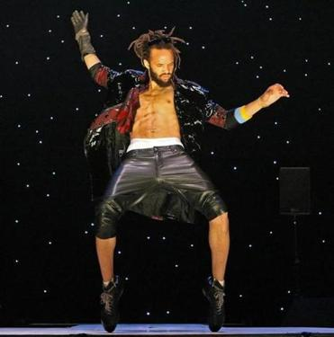 """Every production I do is a tribute to them who have paved the way,'' says Savion Glover, pictured in ""SoLE PoWER"" in 2010."