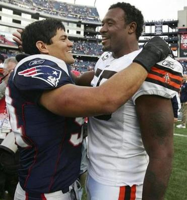 Willie McGinest was a loser as he returned to Gillette Stadium with the Browns.