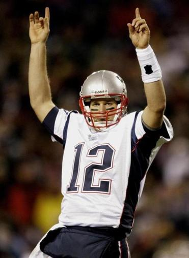 With five against the Bills, Tom Brady became the Patriots' all-time leader in touchdown passes.