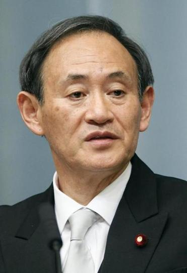 Chief Cabinet Secretary Yoshihide Suga seemed to keep comments on the issue intentionally vague.