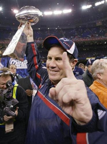 The Super Bowl is exactly 11 years after the Pats won their first title.
