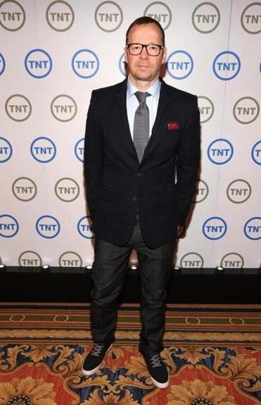 Donnie Wahlberg at Turner Broadcasting's 2013 TCA Winter Tour.