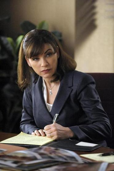 "Julianna Margulies stars as Alicia Florrick on CBS' ""The Good Wife."""