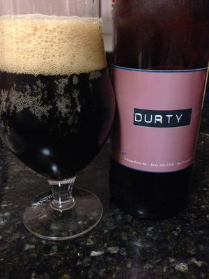 Smuttynose Brewing Company's Durty, an imperial brown ale.