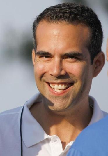 George P. Bush says he has the right experience.